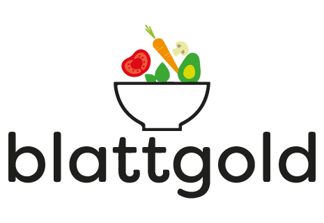 logo Blattgold - Salads, Bowls, Curries & Wraps