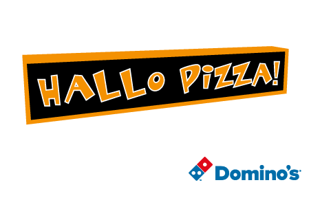 logo Hallo Pizza (ist Domino's)