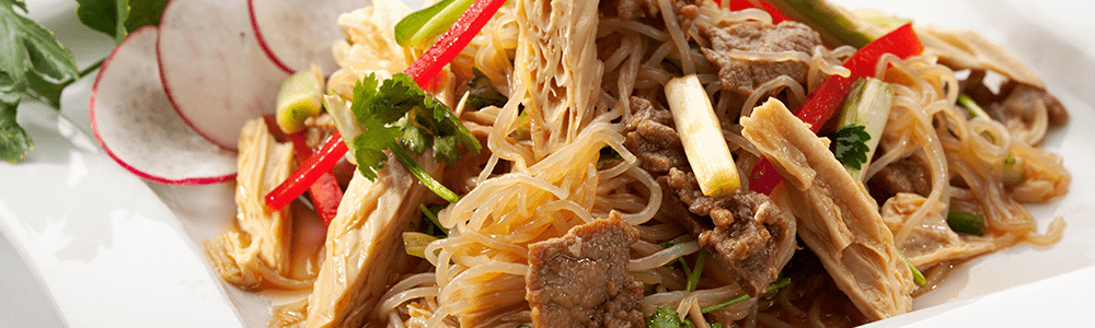 Chinese specialties - rice and noodle dishes