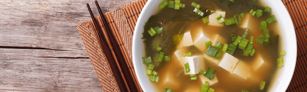 Japanese dishes - soups