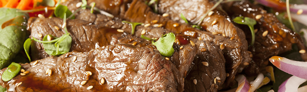 Chinese specialties - beef