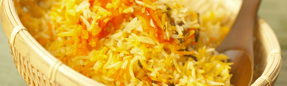Indian specialties - rice