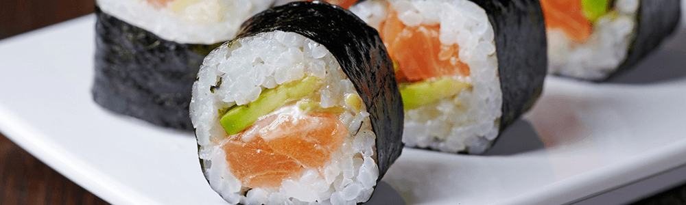 Japanese dishes - maki sushi