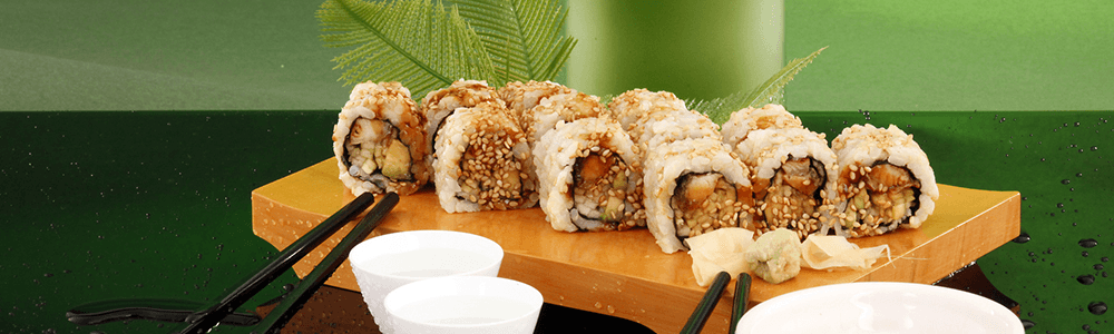 Japanese dishes - inside out maki