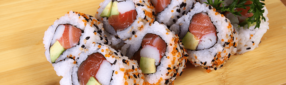 Sushi - Inside Out Roll Sesam