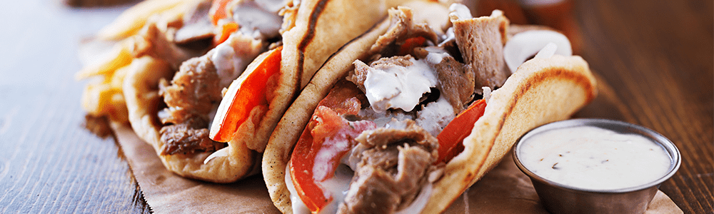 Döner dishes