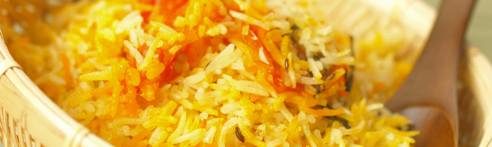 Fragrant rice dishes