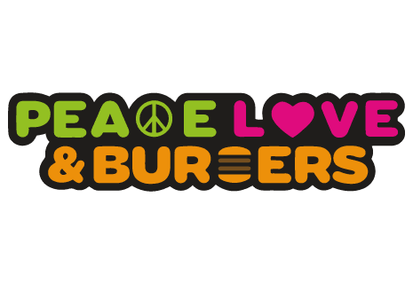 logo Peace Love & Burgers