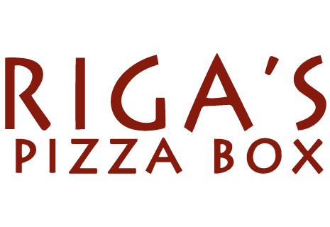logo Riga's Pizza Box