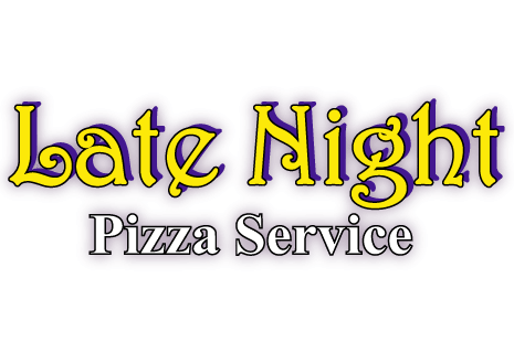 logo Late Night Pizza Service