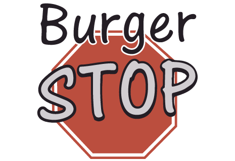 logo Burger Stop - Pizza - Burger