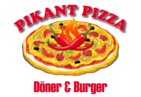 logo Pikant Pizza