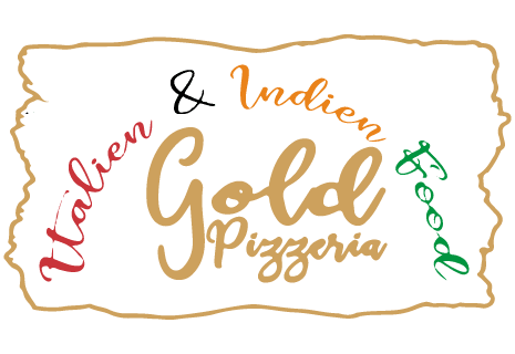logo Gold Pizzeria Italien + Indian Food