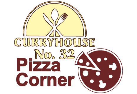 logo Curry House 32 & Pizza Corner