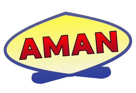logo Aman Pizza und China Service