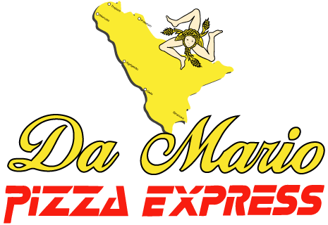 logo Pizza Express Da Mario
