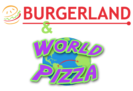 logo Burgerland & World Pizza