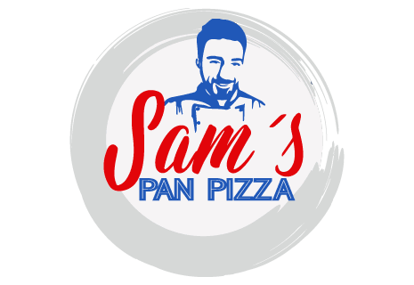 logo Sam's Pan Pizza