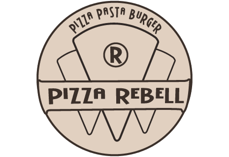 logo Pizza Rebell, Pasta, Burger