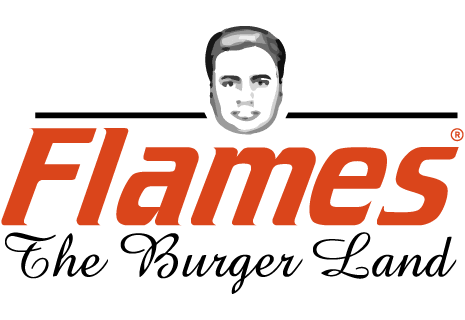 logo Flames - The Burger Land