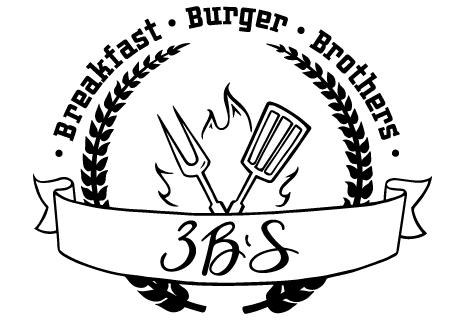 logo 3 B'S - Breakfast - Burger - Brothers