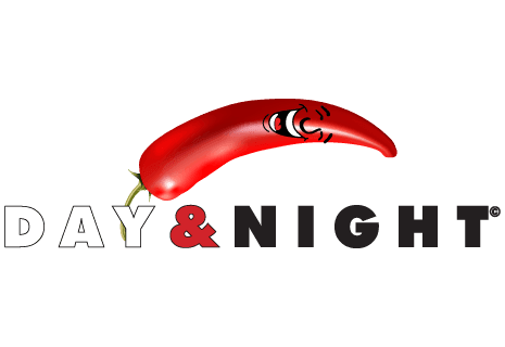logo Day & Night Pizza Pasta Burger Indisch Lieferservice
