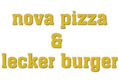 logo Nova Pizza & Lecker Burger