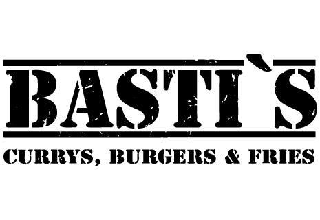 logo Bastis Currys, Burgers & Fries