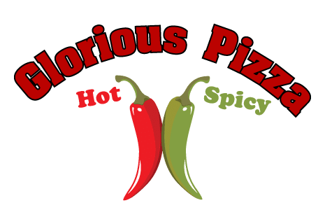 logo Glorious Pizza Hot & Spicy