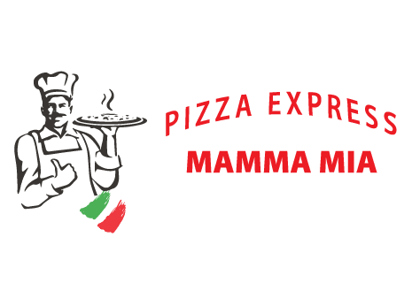 logo Pizza Express Mama Mia