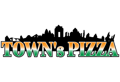 logo Town's Pizza